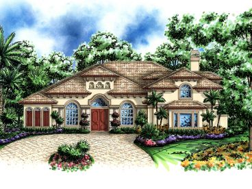 Mediterranean Home Plan, 040H-0031