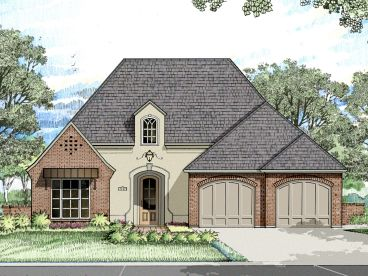Ranch House Plan, 079H-0007