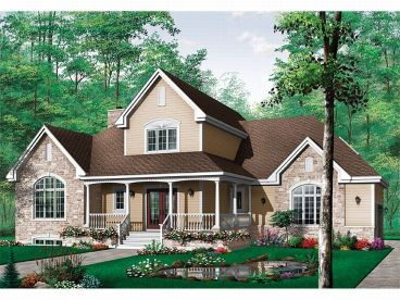 Country House Plan, 027H-0023
