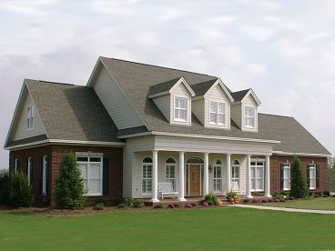 Southern Country House Plan, 073H-0059