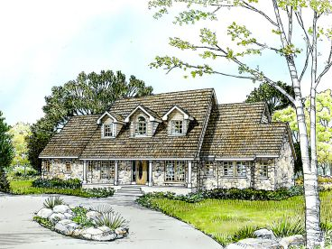 Country House Plan, 008H-0036
