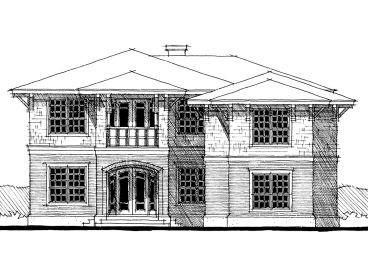 Two-Story House Plan, 052H-0027