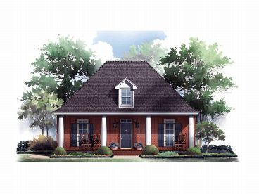 Small House Plan, 001H-0049