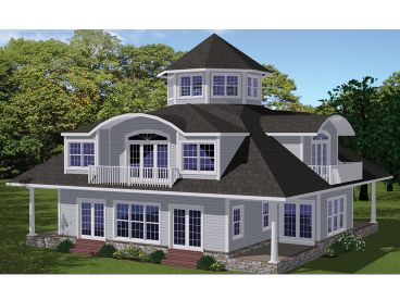 Unique House Plan, 068H-0032