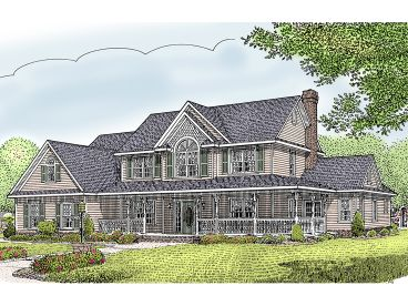 Country House Plan, 044H-0043