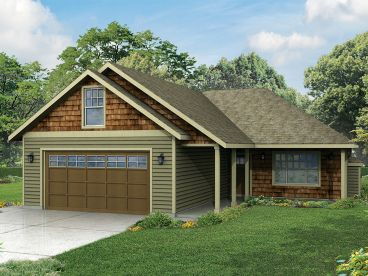 Family House Plan, 051H-0228