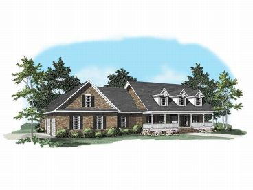 Country House Plan, 019H-0083