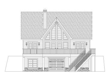 Mountain Home Plan, 006H-0163