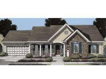 Small House Plan, 046H-0172