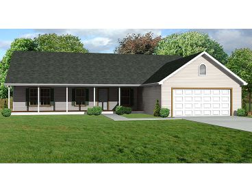 Small Ranch House Plan, 048H-0014
