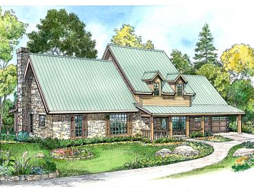 2-Story House Plan, 008H-0010