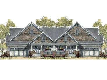 Multi-Family House Plan, 031M-0048