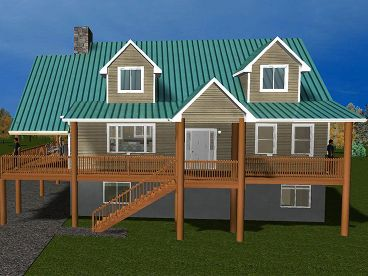 Country Home Plan, 065H-0042