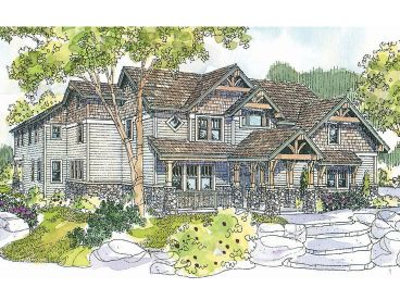 Premier Luxury Home Plan, 051H-0116