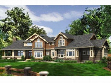 Front ViewSmall House Plan Photo, 035H-0051