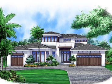 Sunbelt House Plan, 069H-0009