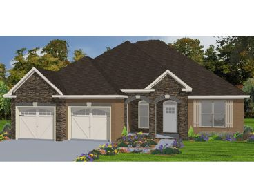 Ranch House Plan, 073H-0093