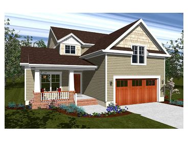 Craftsman Home Plan, 058H-0094