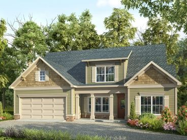 Family House Plan, 019H-0173