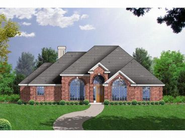Traditional House Plan, 015H-0099