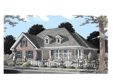 Ranch House Plan, 059H-0065