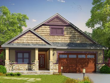 Empty-Nester House Plan, 031H-0271