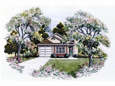 Small House Plan, 019H-0124