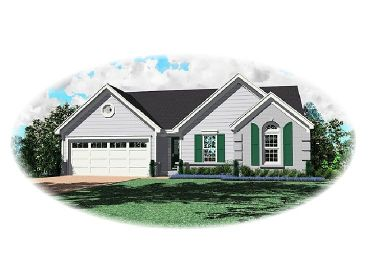1-Story Home Plan, 006H-0015