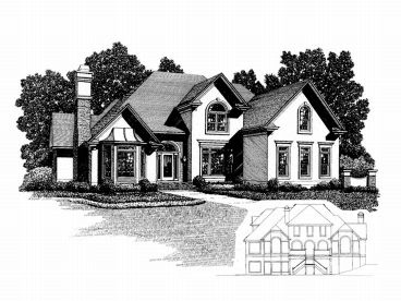 Luxury Home Plan, 007H-0114