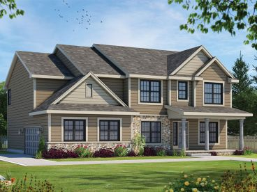 Traditional House Plan, 031H-0400