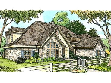 Luxury Home Plan, 008H-0023