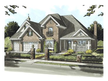 Two-Story House Plan, 059H-0086