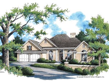 Sunbelt Home Plan, 021H-0217