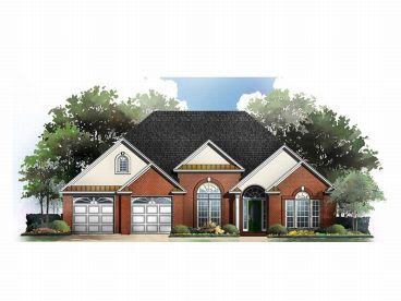 Traditional House Plan, 001H-0071