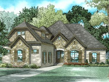 European House Plan, 025H-0326