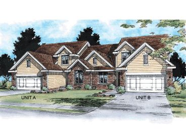 Multi-Family House Plan, 031M-0001
