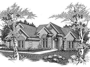 1-Story House Plan, 061H-0069