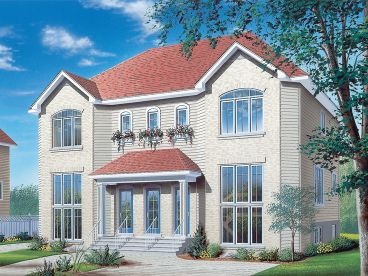 Multi-Family Home Plan, 027M-0045