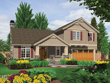 Two-Story House Plan, 034H-0025