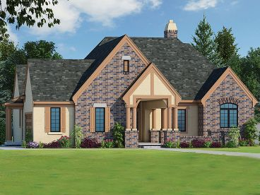 European House Plan, 031H-0268