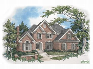 2-Story House Plan, 007H-0089