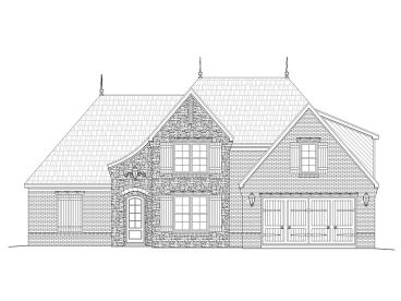 European House Plan, 062H-0049