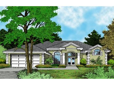 One-Story Home Design, 043H-0118