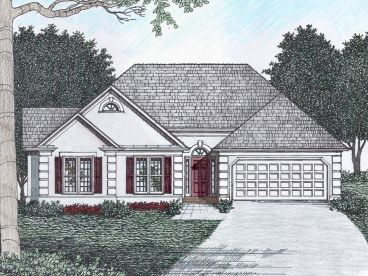 Sunbelt Home Plan, 045H-0049