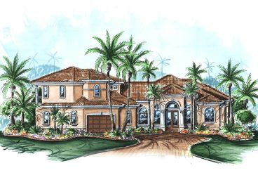 Mediterranean Home Plan, 040H-0056
