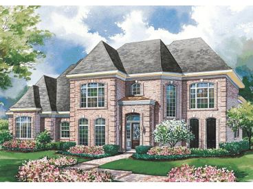 Luxury Two-Story Home, 031H-0160