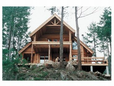 Mountain Home Plans, Mountain View Home Plans, New House Floor
