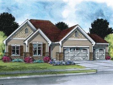 Traditional House Plan, 031H-0256