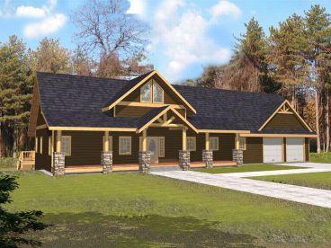 Northwestern Home Plan, 012H-0051