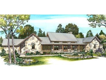 Country House Design, 008H-0035